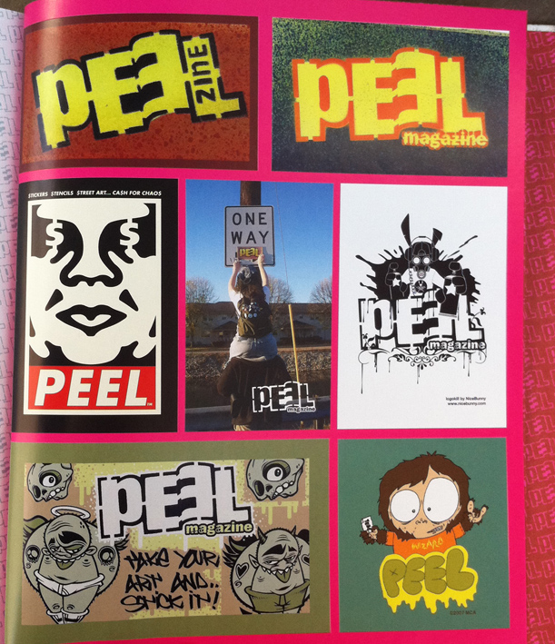 PEEL: The Art of the Sticker