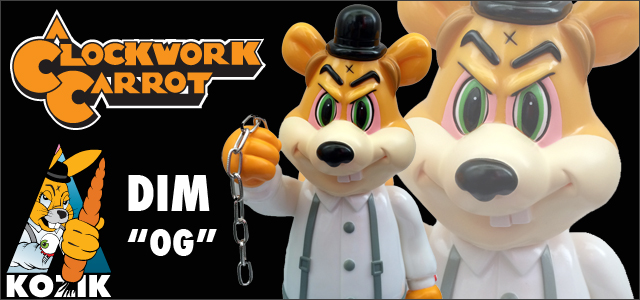 Frank Kozik x BlackBook Toy:A Clockwork Carrot Dim OG