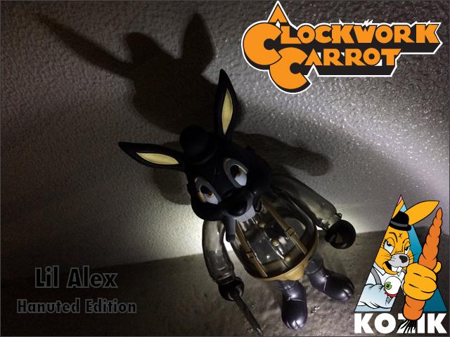 Frank Kozik:A Clockwork Carrot Lil Alex Haunted