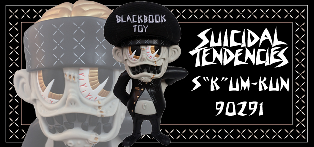 Suicidal Tendencies x BlackBook Toy��SKUM-kun 10������ե����奢 90291 Edition