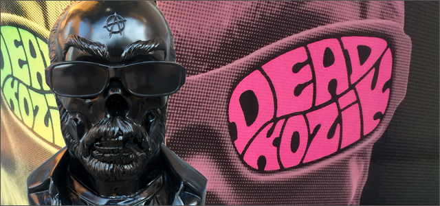 Frank Kozik x Kevin Gosselin:Dead Kozik 15������Х��ȥ��åץե����奢 BK