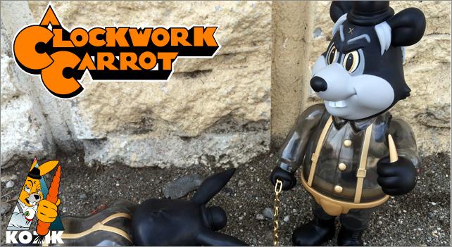 Frank Kozik:A Clockwork Carrot:Dim Haunted