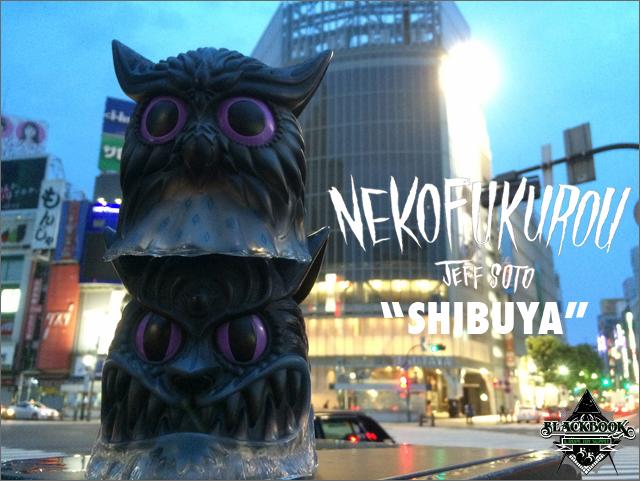 Jeff Soto:NekoFukurou Shibuya