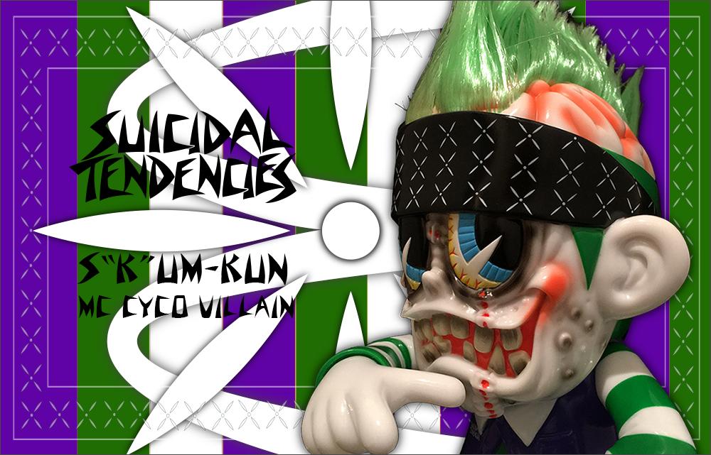 Suicidal Tendencies:SKUM-kun MC Cyco Villain