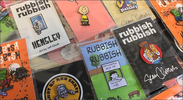 rubbish rubbishピンズ大量入荷