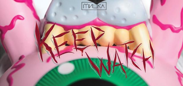 Mishka x Kidrobot:Bad News Dunny���١�