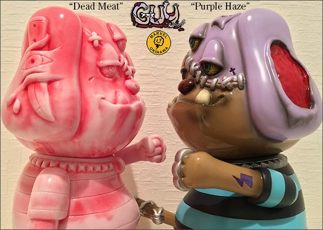 GUY:Purple Haze&Dead Meat抽選販売