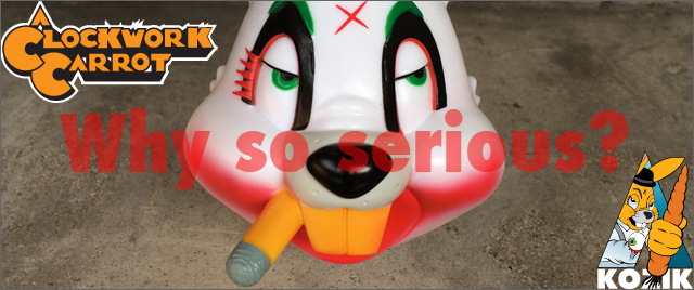 Frank Kozik x BlackBook Toy:A Clockwork Carrot Lil Alex J edition