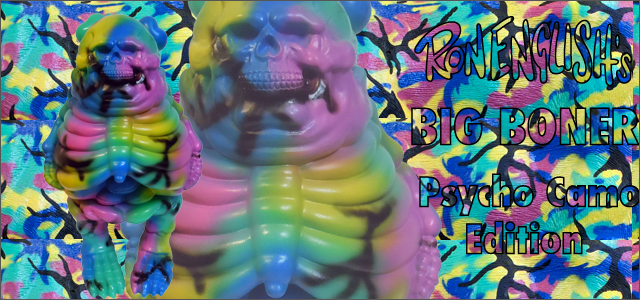 Ron English x BlackBook Toy( ��󡦥��󥰥�å���)��Big Boner�ʥӥå��ܡ��ʡ��� 8������ե����奢 Psycho Camo Edition