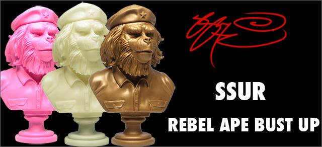SSUR:Rebel Ape Bust Ups
