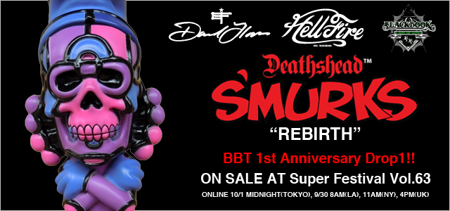 David Flores x HellFire Canyon Club x BlackBook Toy:Deathead S'murks