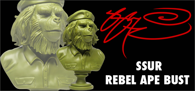 SSUR(����)��Rebel Ape 12����� Bust Up�ե����奢��Army Green