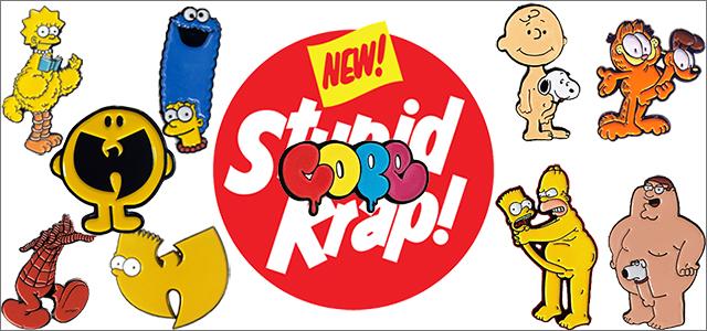 Stupid Krapピンズ取り扱い開始